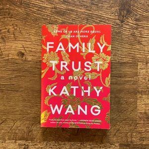 Novel: Family Trust by Kathy Wang